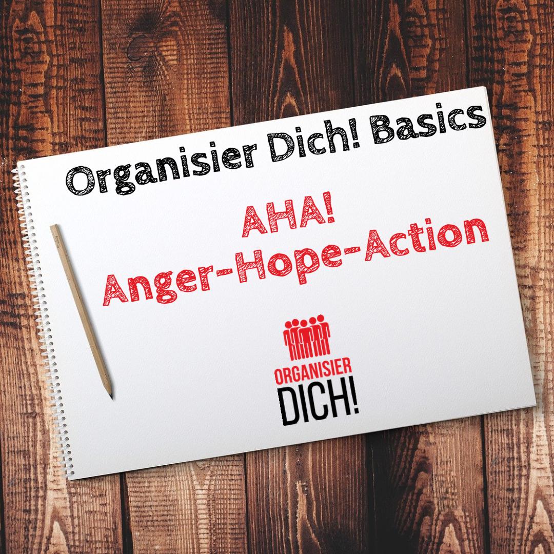 Folge 2: Organisier Dich! Basics/ AHA! Anger-Hope-Action