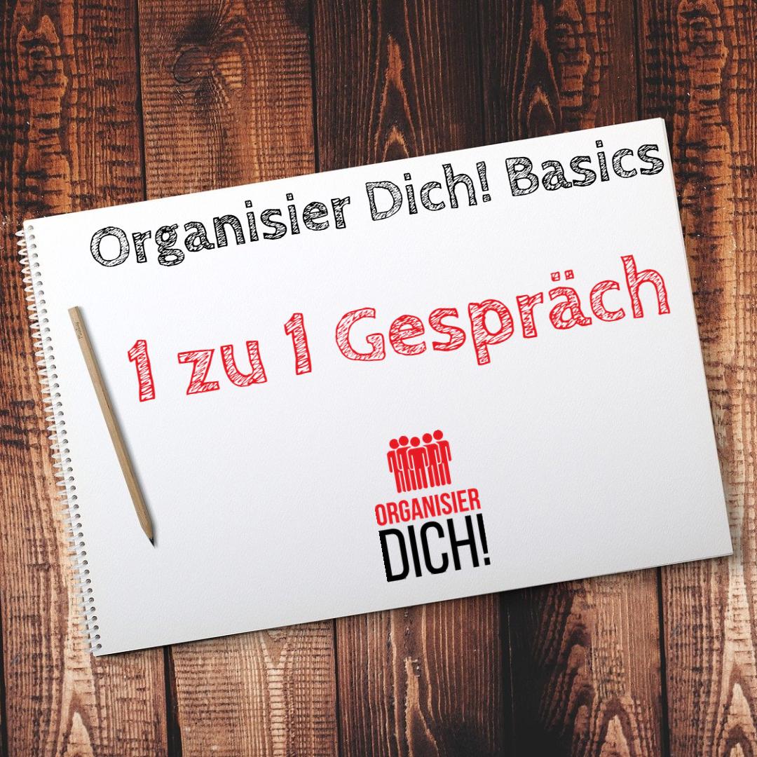 Folge 3: Organisier Dich! Basics/ 1 zu 1 Gespräch