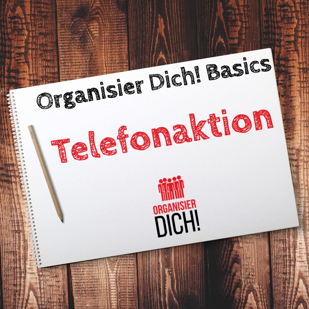 Folge 4: Organisier Dich! Basics/ Telefonaktion